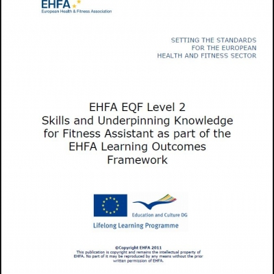 Level 2 EQF standards - fitness assistant - 0