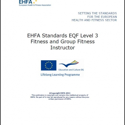 Level 3 EQF standards - fitness & group fitness instructor - 0