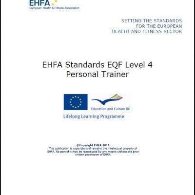 Level 4 EQF standards - personal trainers - 0