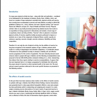 Exercise, a powerful tool to manage type 2 diabetis - Ebook - 0