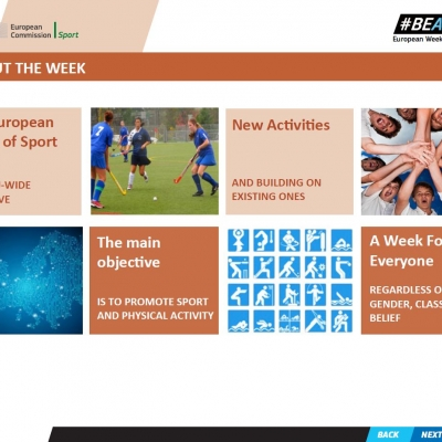 European Week of Sports - Presentation Handouts ELF - 3