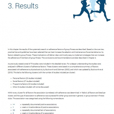 Adherence factors of group fitness - Ebook - 1