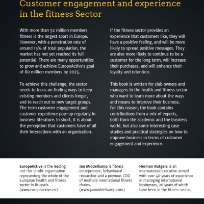 Customer engagement and experience in the fitness sector - 1