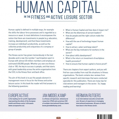 Human Capital in the Fitness and Active Leisure Sector - 1