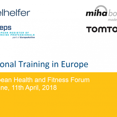 Personal Training in Europe Presentation - 0
