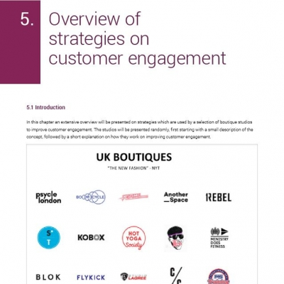 Customer engagement in boutique studios - 4