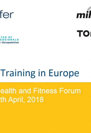Personal Training in Europe Presentation 0