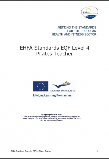 Level 4 EQF standards - pilates 0
