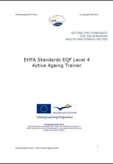Level 4 EQF standards - active ageing trainer 0
