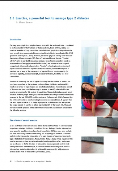 Exercise, a powerful tool to manage type 2 diabetis - Ebook 0