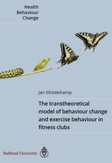The transtheoretical model of behaviour change and exercise behaviour in fitness clubs - hardcover book 0