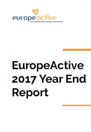 EuropeActive Year End Report 2017 0