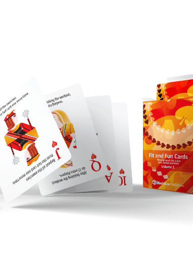 Fit and Fun playing cards 0